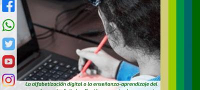 La alfabetización digital o el aprendizaje del lenguaje digital